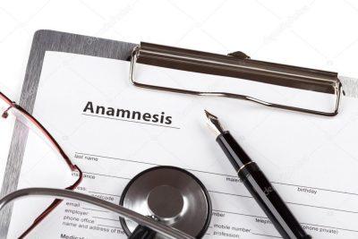 Anamnese und orthopädische Untersuchung